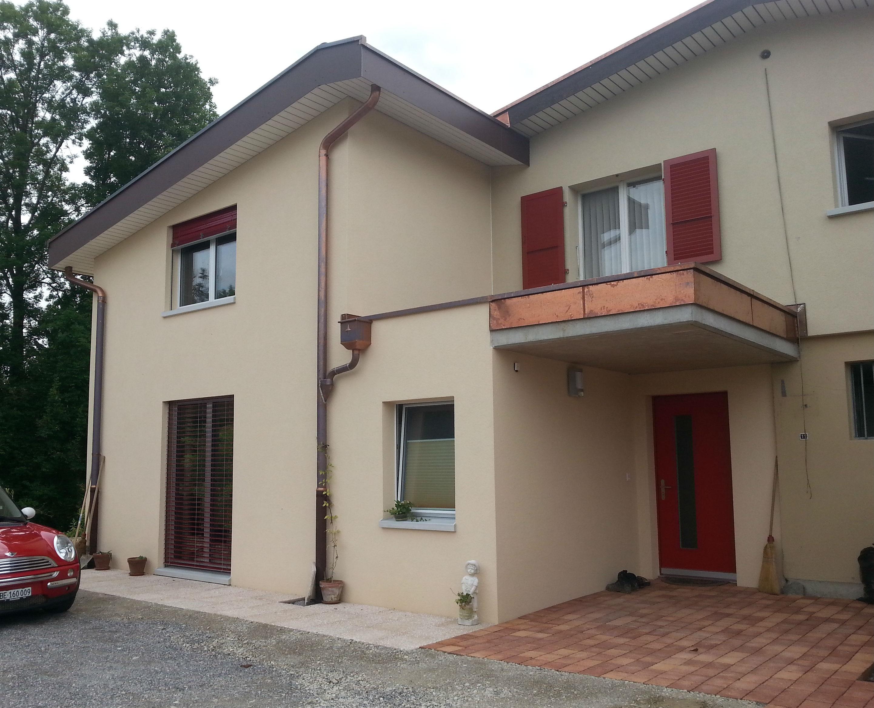 Anbau Einfamilienhaus