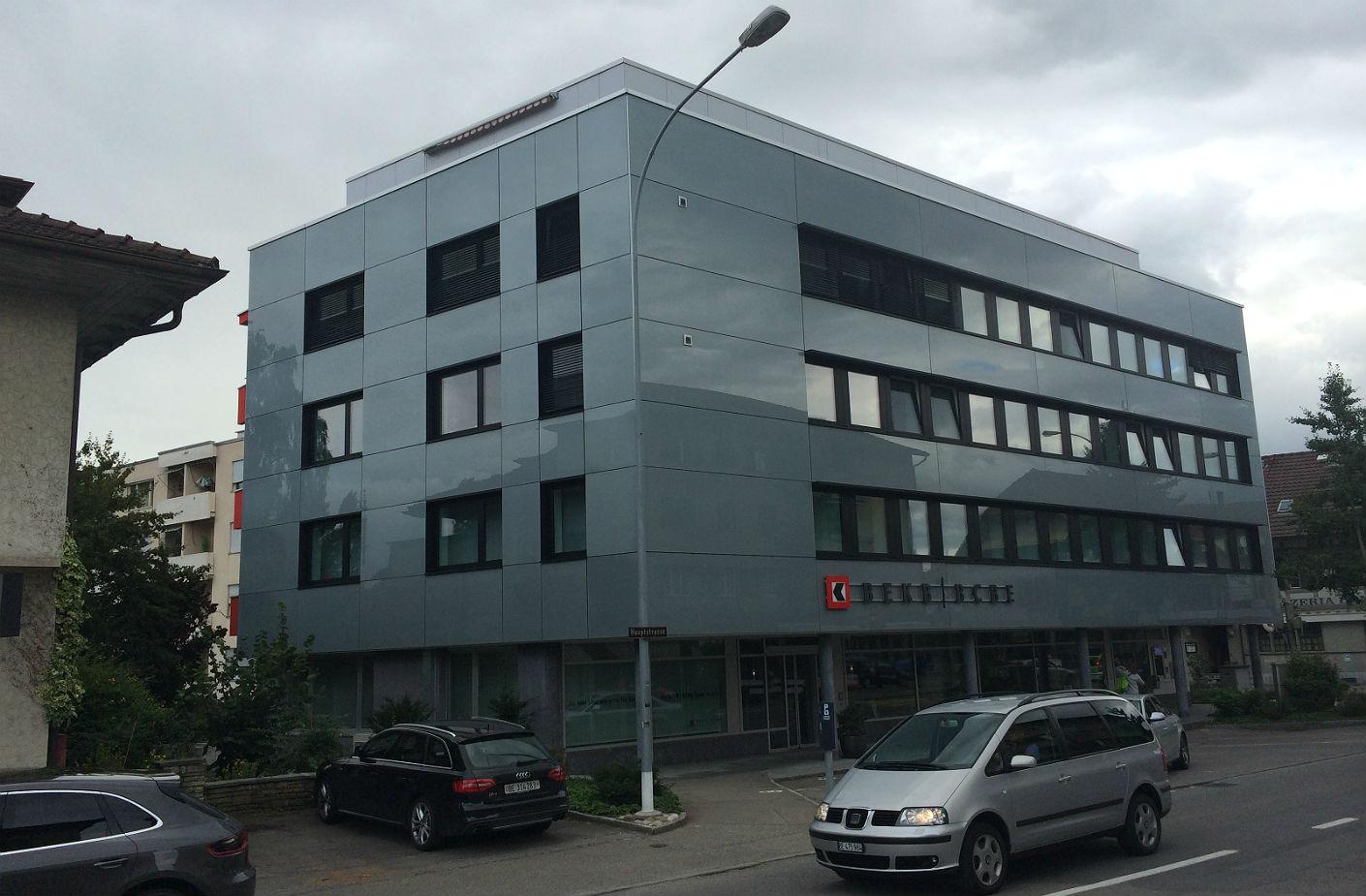 Fassadensanierung BEKB