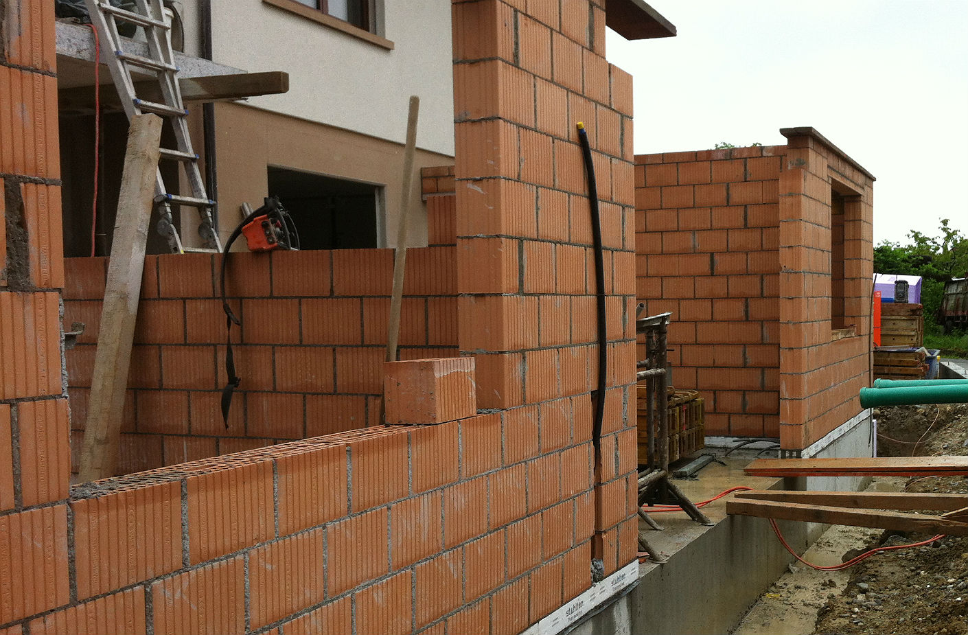 Umbau/Anbau Einfamilienhaus